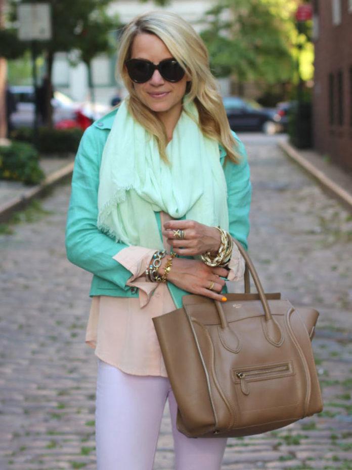 10 модных сочетаний цветов в одежде, благодаря которым Вы будете выглядеть моложе!