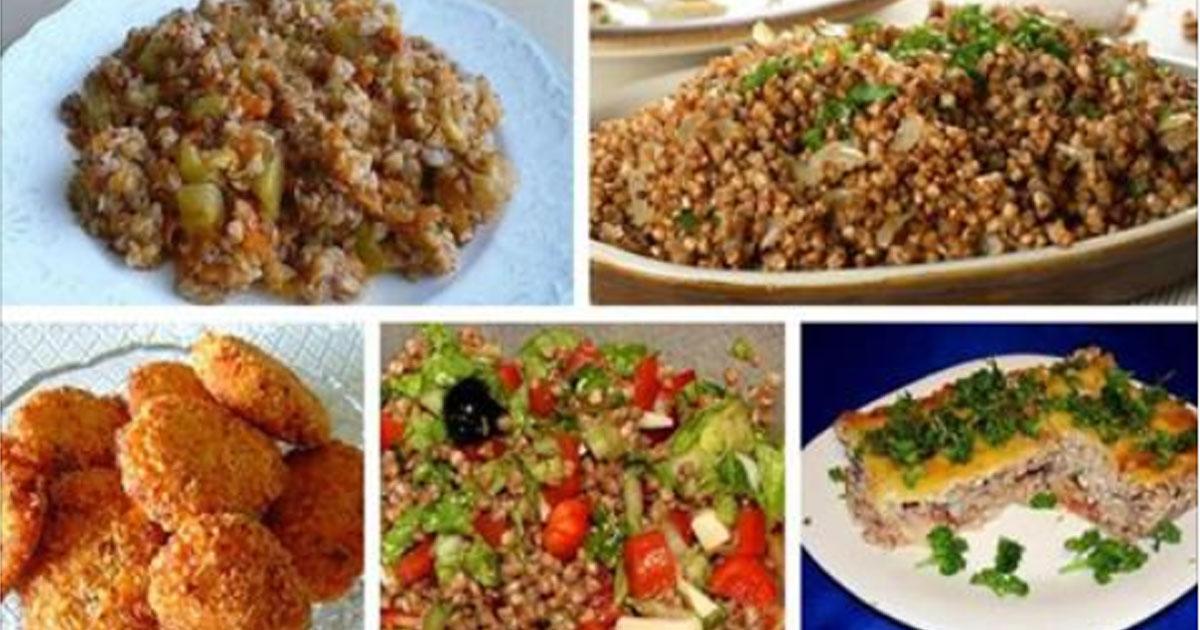 Самая вкусная гречка. Пять лучших рецептов приготовления