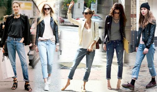 Стильные сочетания с джинсами