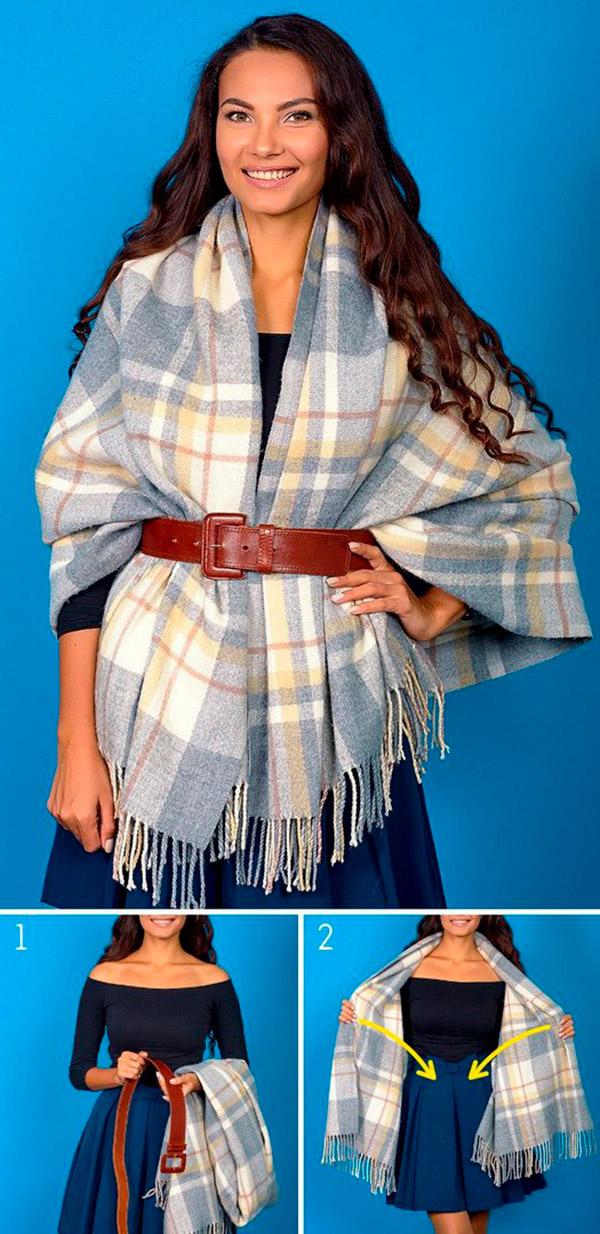 Красивые способы завязывать шарфик и дополнять свой образ!