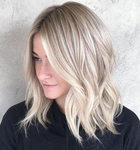 Окрашивание волос 2018: лучшие идеи для блондинок