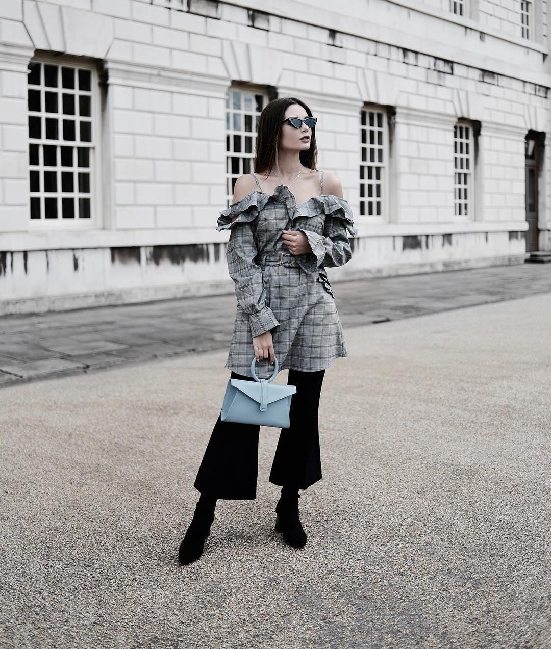 Как носить черные брюки в 2018 году: 14 лучших street-style примеров