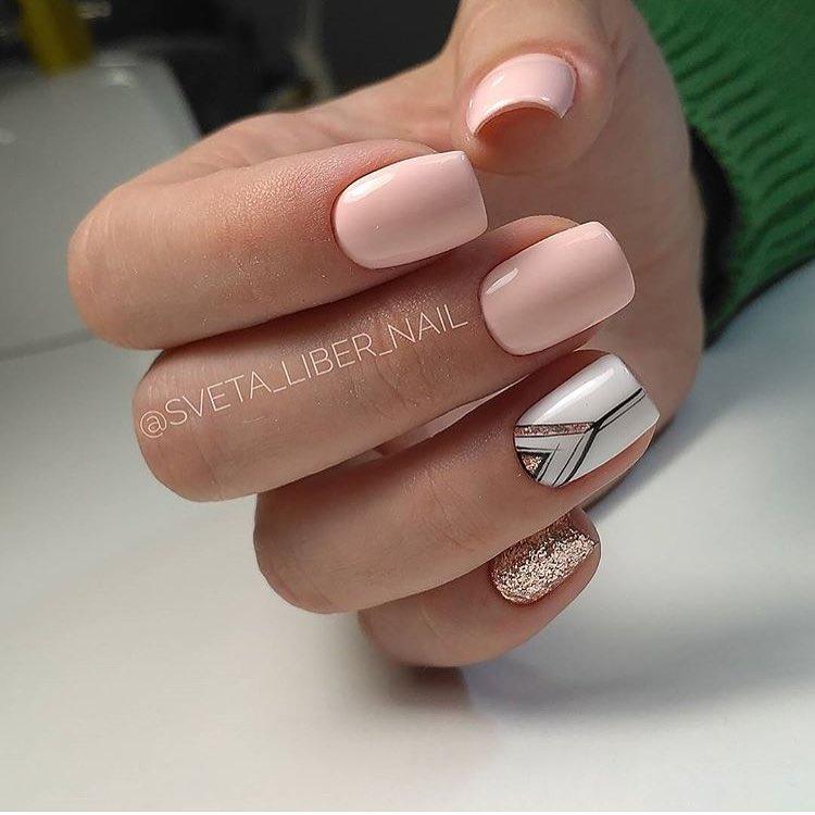 Весна в дизайне для ногтей Прекрасный маникюр