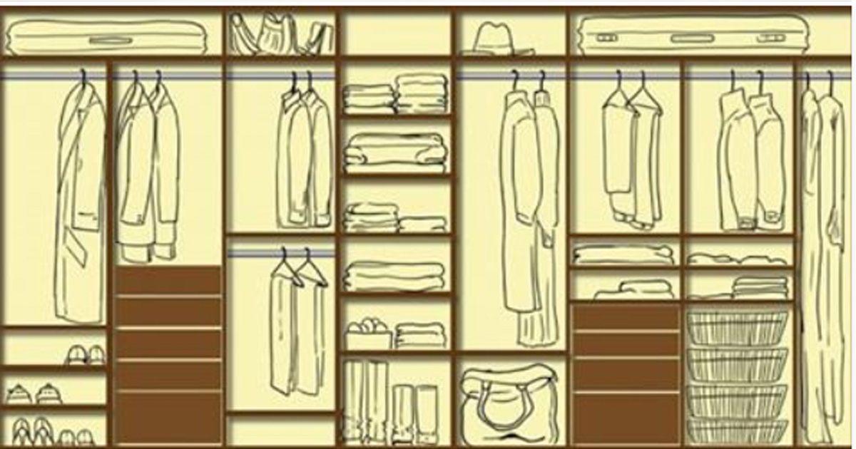 Как обустроить гардеробную: 12 идей для обычных и самых маленьких комнат