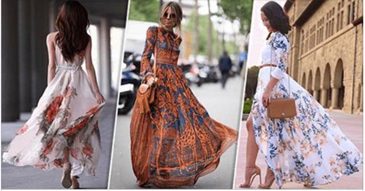 Летящей походкой: 14 очаровательных платьев из струящейся ткани