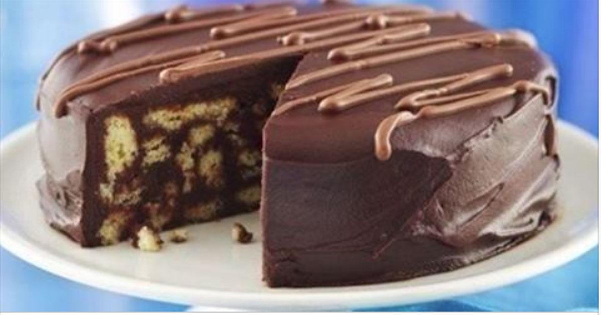 Шоколадный торт, который готовится без духовки. Пальчики оближешь!
