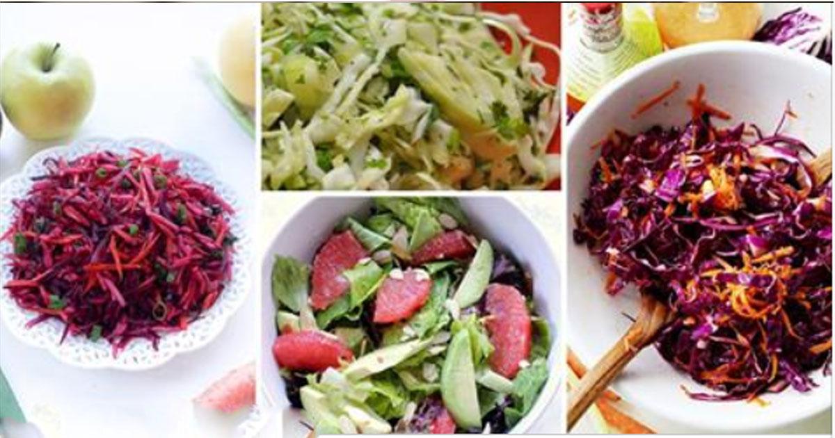 5 очень вкусных постных салатов, которые защитят вас от весеннего авитаминоза