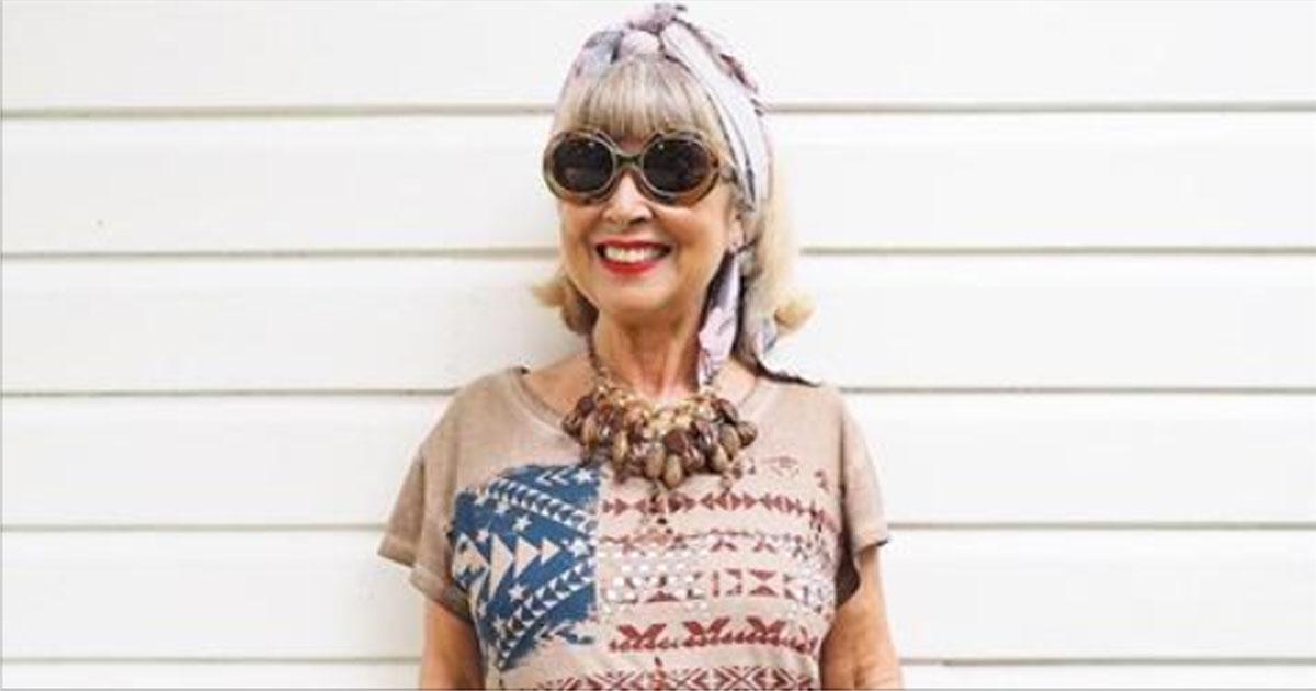 68-летняя модный блогер Сюзи Грант покорила Instagram