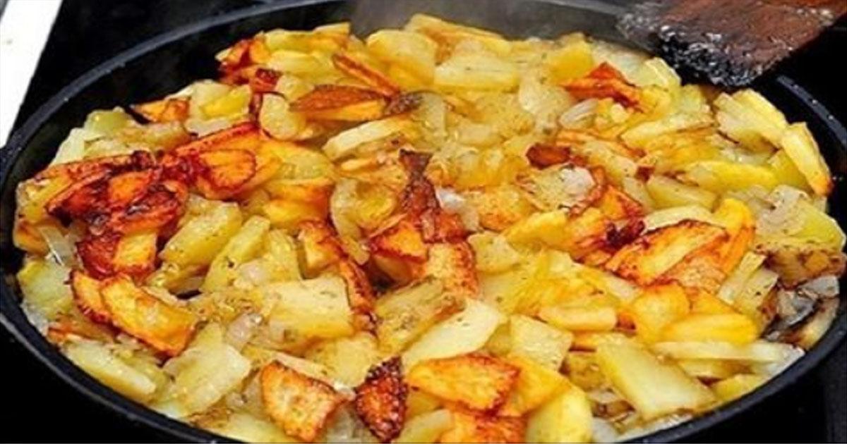 Жарим картошку правильно: 6 драгоценных правил!