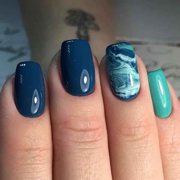 Прекрасные идеи для квадратных ногтей