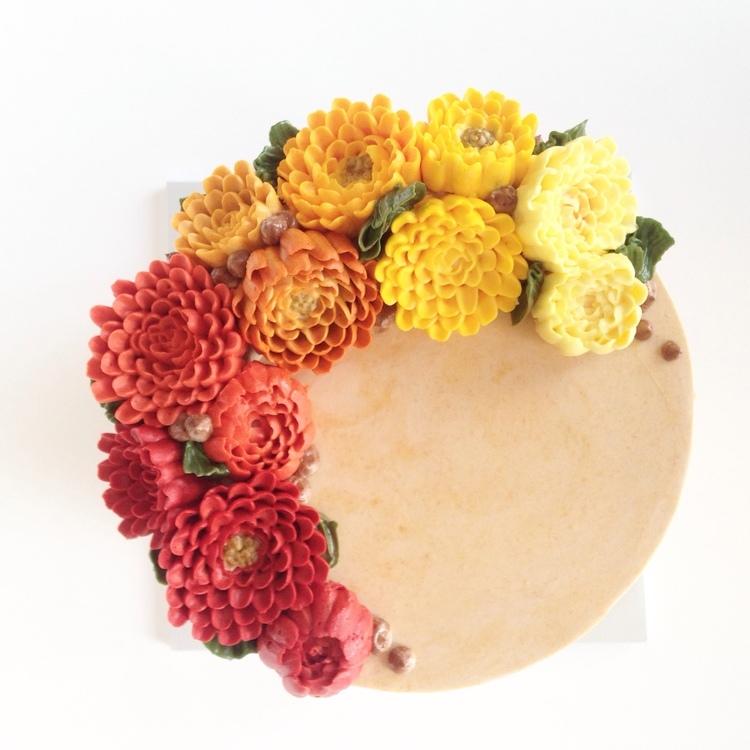 Цветущие нежные торты, просто чтобы встретить весну