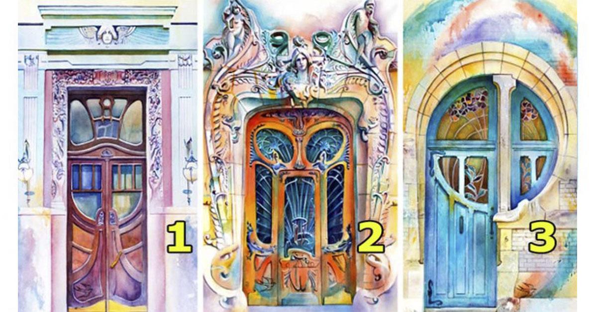 Выберите дверь, чтобы узнать какие возможности появятся у Вас весной