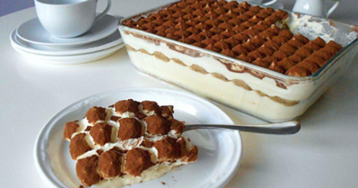 Вы больше никогда не будете печь торты: самый вкусный десерт «Тирамису»