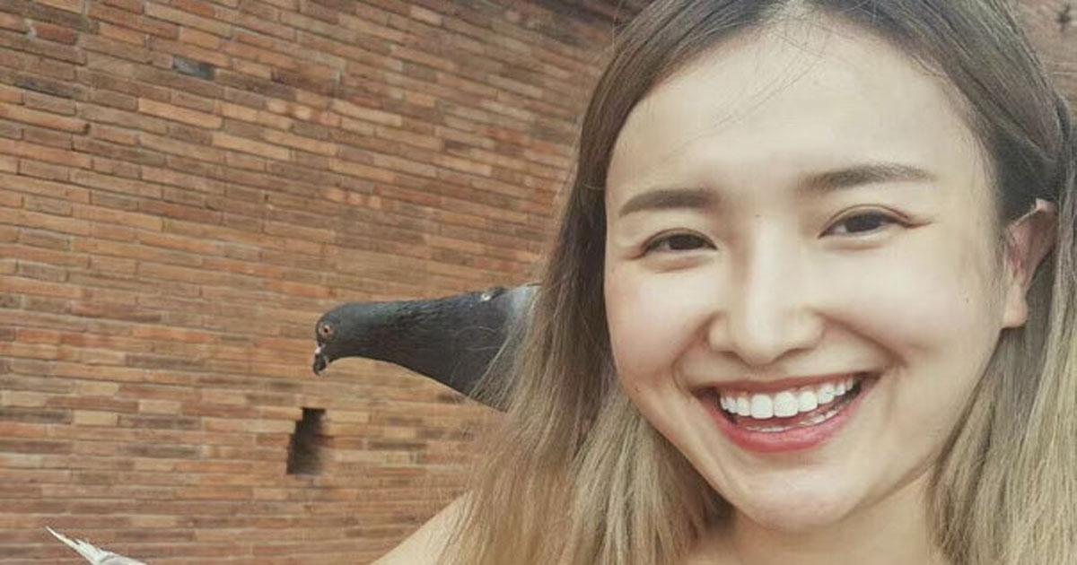 Девушка перевоплотилась в Мону Лизу с помощью макияжа