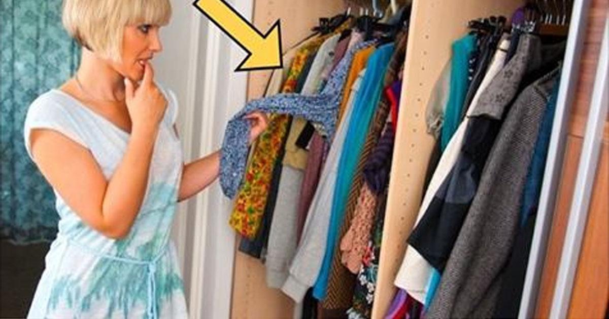 Простой способ, как избавить вещи от «запаха шкафа»