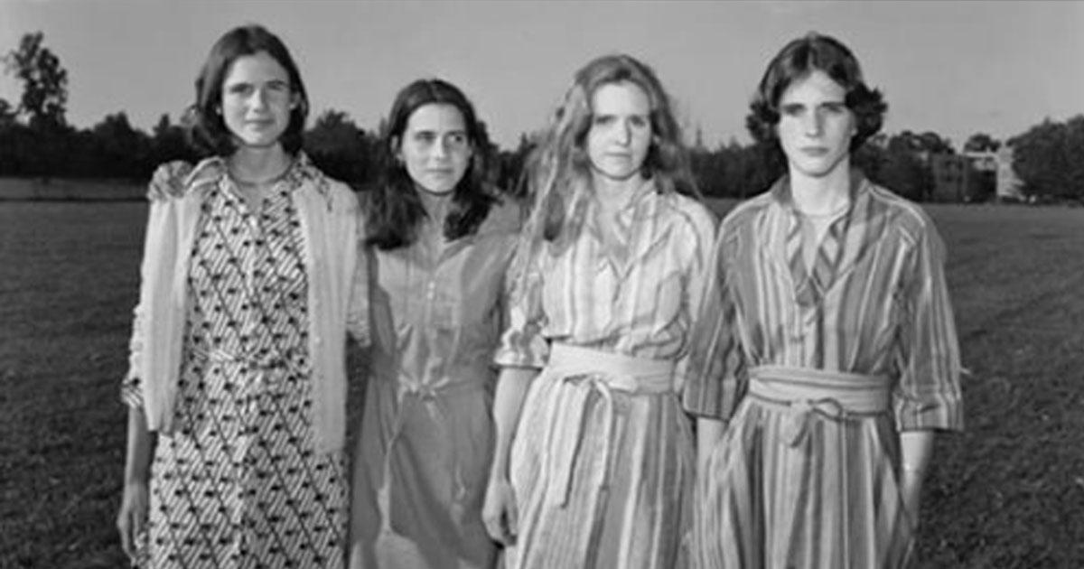 Четыре сестры фотографировались вместе каждый год на протяжении 40 лет