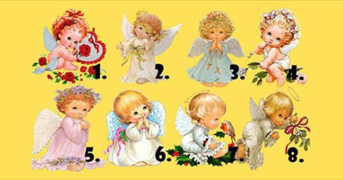 Ангел, который больше всего привлечёт ваше внимание, может дать вам предсказание на ближайшее будущее