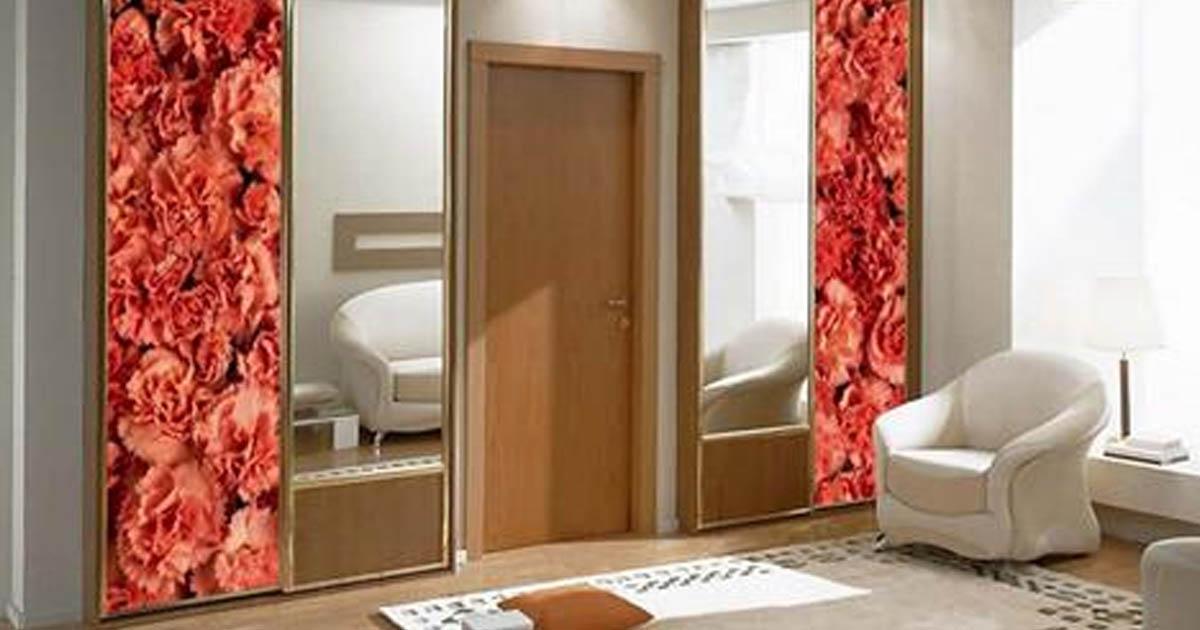 Шкаф вокруг дверного проема — стильное и экономичное решение!