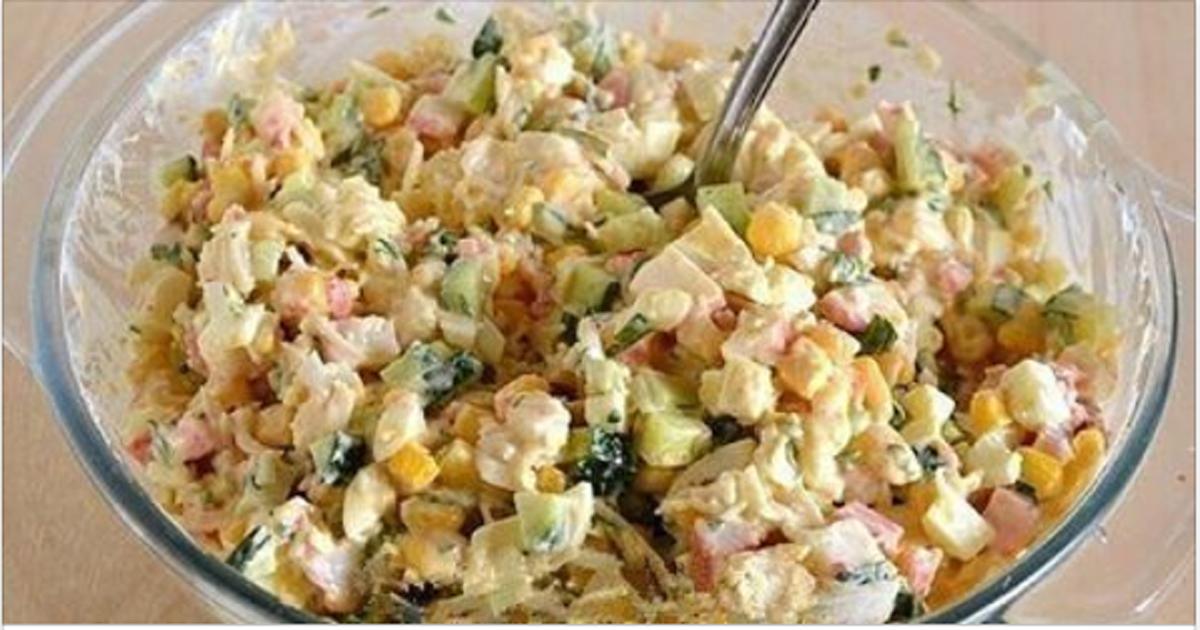 4 рецепта вкусных салатов
