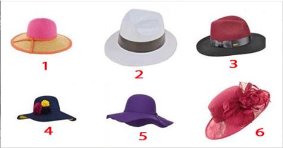 Какая шляпка нравится вам, такой и видят вас незнакомые мужчины