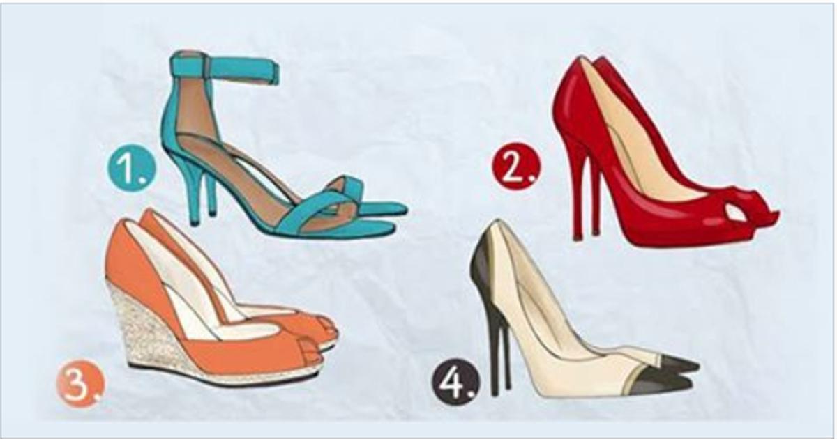 Смотрите, какие туфельки! Выберите те, которые Вы бы надели!