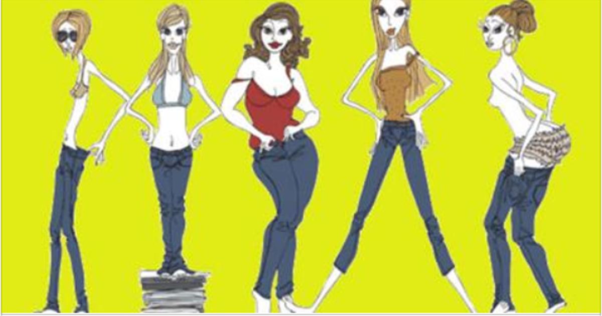 5 типов фигур и идеальный гардероб для них