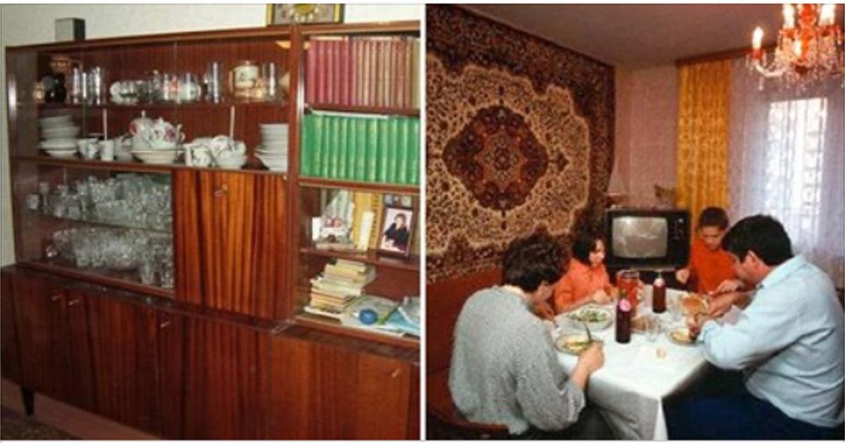 10+ до боли знакомых обстановок в советских квартирах