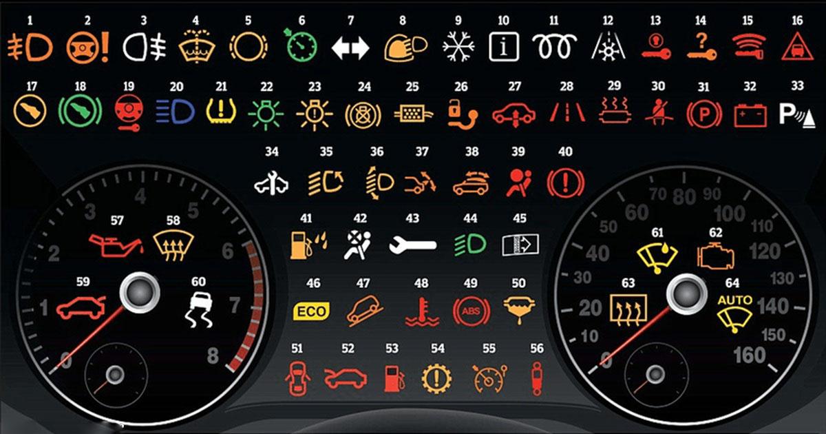 О том, что значат все эти значки на панели приборов вашей машины