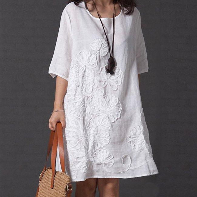 Белая одежда в стиле Бохо — Идеальный вариант для жаркого лета.