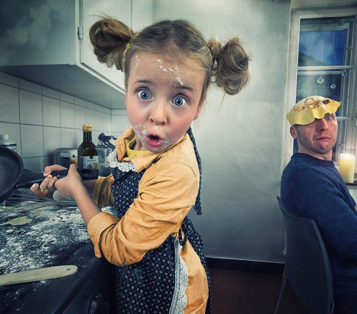 Отец создает такие фото своих дочерей, каких нет ни в одном семейном фотоальбоме