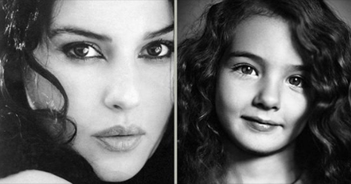 Дети самых красивых женщин мира.