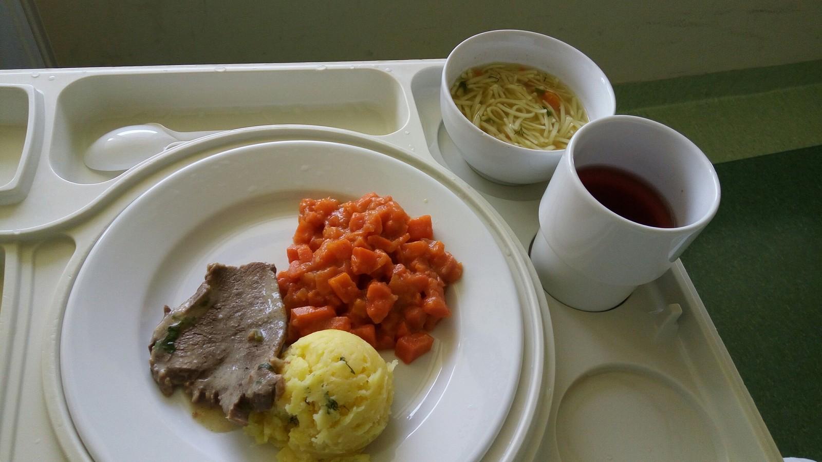 Больничная еда в разных странах мира