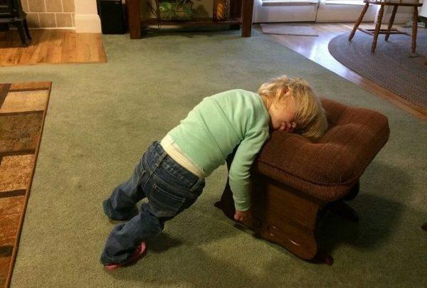 Когда усталость валит с ног (14 фото)