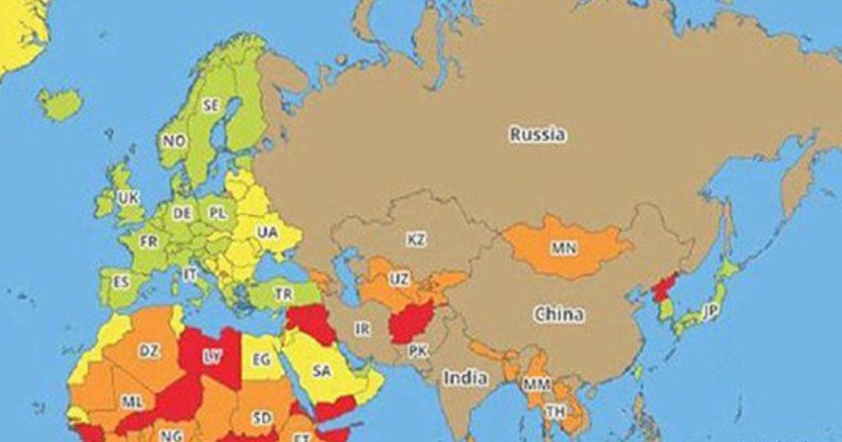 Вот список самых опасных для туристов стран мира. И он изменит ваши планы на отпуск