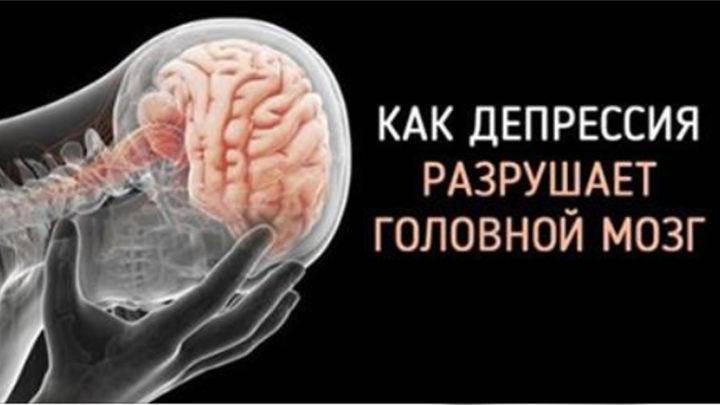 Депрессия – разрушитель головного мозга
