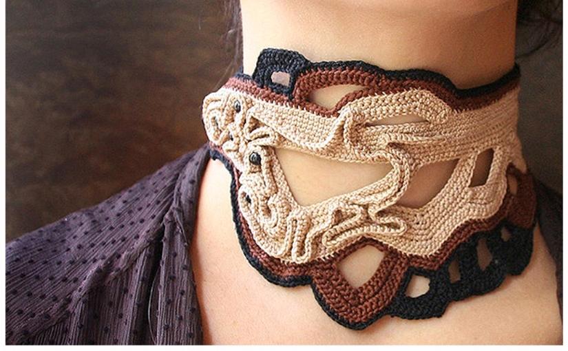 100 + идей вязаной бижутерии, которая украсит любую девушку