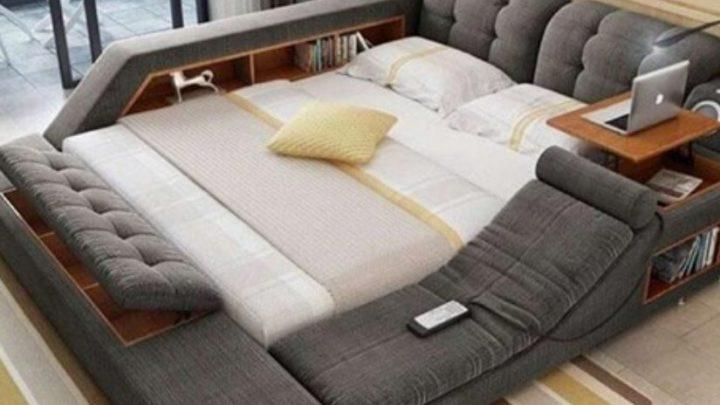Многофункциональная кровать с которой тяжело встать