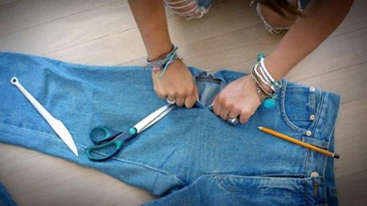 25 эксклюзивных идей того, что можно сделать из старых джинсов.