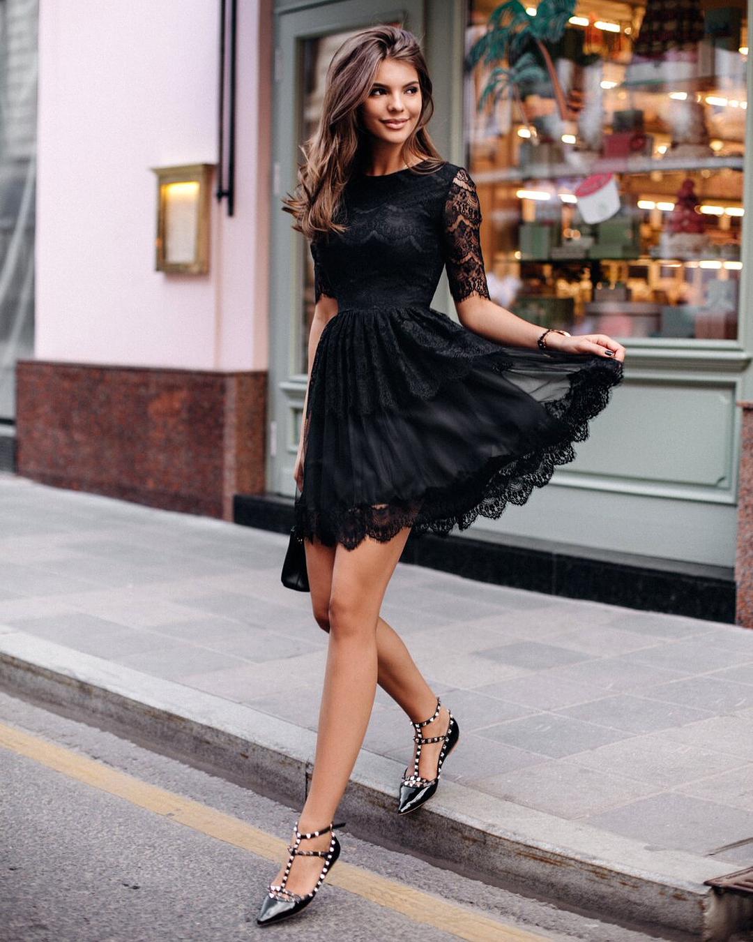 Какие платья лучше всего сочетаются с обувью без каблука : Лучшие образы рекомендации