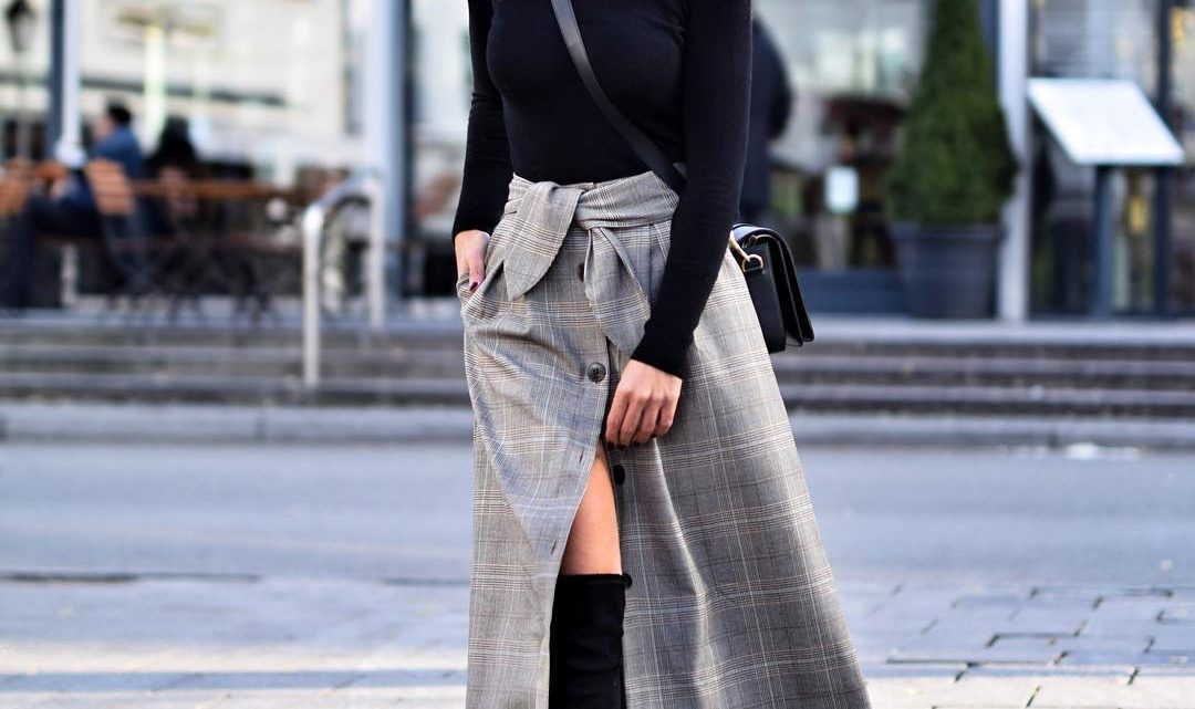 Стильные юбки: тридцать три модных варианта