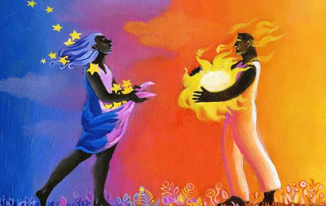Любовь возникает между мужчиной и женщиной сразу и одновременно
