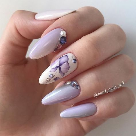 The most fashionable and beautiful manicure 2019 in different photo techniques