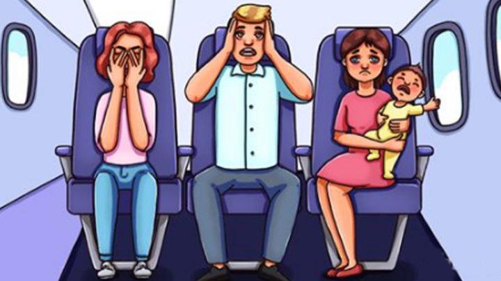 Советы для тех, кого раздражают кричащие дети в самолете