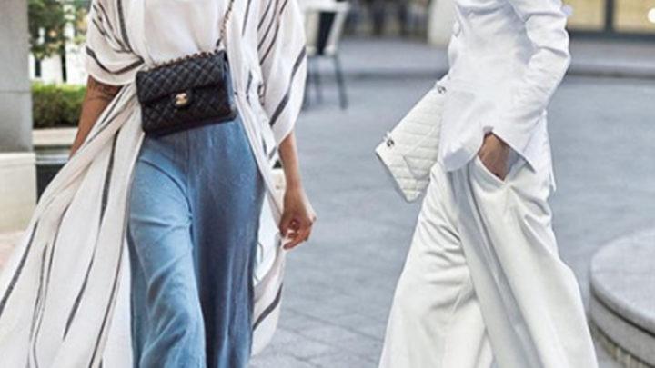 Широкие брюки: 5 советов, как не выглядеть в них толстой