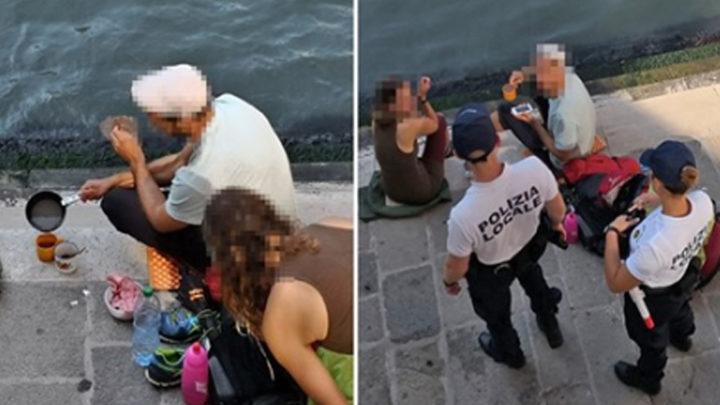 2 туристов оштрафовали и вышвырнули из Венеции за готовку кофе на мосту