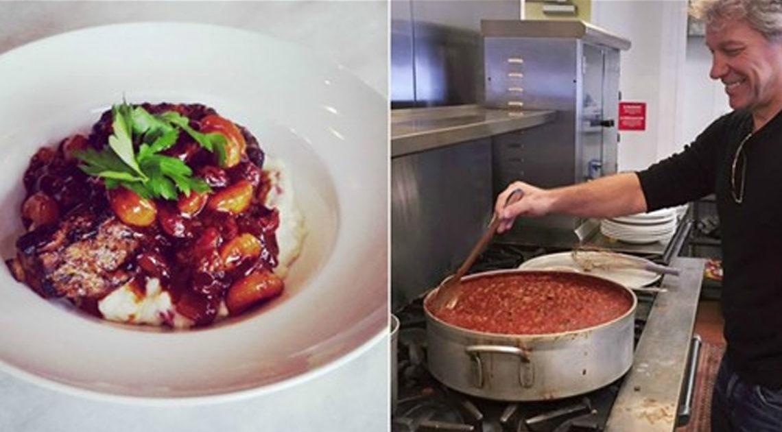 Джон Бон Джови открыл два ресторана — люди без денег могут есть в них бесплатно